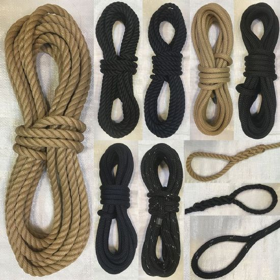 English Braids Polyester Mooring Lines
